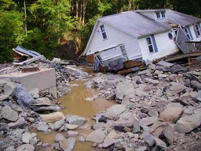 Walton, NY - flood 2006